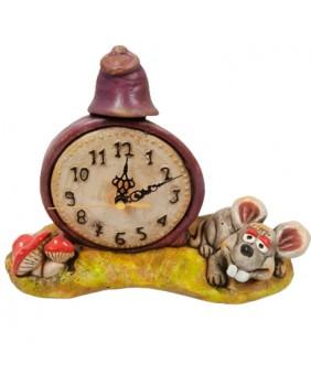 Reloj Clásico, Ratón y Setas