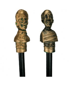 Picasso and Dalí pencils